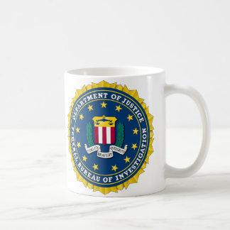 U.S. - FBI法務省 コーヒーマグカップ