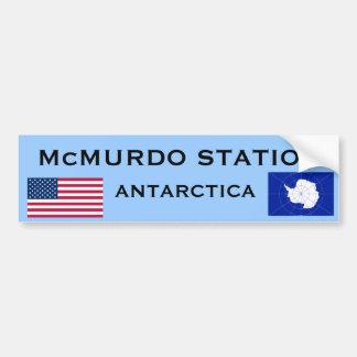 U.S. - McMurdo南極大陸のバンパーステッカー バンパーステッカー