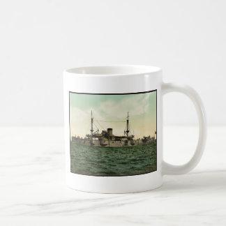 "U.S.S. ""テキサス州""クラシックなPhotochrom コーヒーマグカップ"