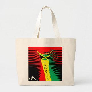 U Seetジャマイカの反逆のトートバック ラージトートバッグ