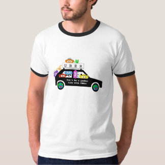 UBERのおもしろいのワイシャツ Tシャツ