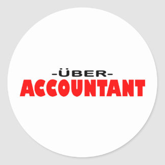 Uberの会計士 ラウンドシール