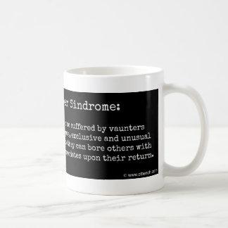 Uberの旅行者のSindromeのコーヒー・マグ コーヒーマグカップ