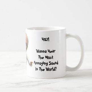UBER KLEINER (ほとんどの迷惑な音) コーヒーマグカップ