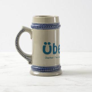 Überfestビールステイン ビールジョッキ