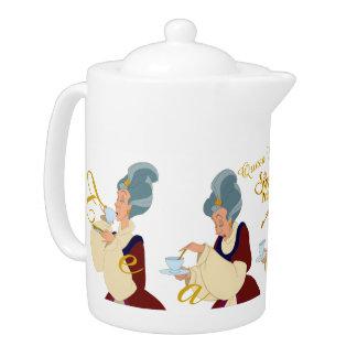 Uberta白鳥のプリンセスの女王のティーポット