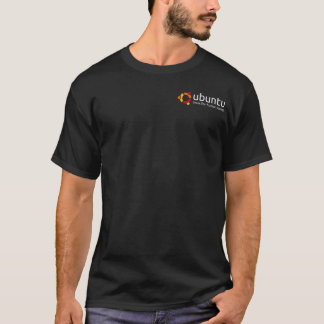 Ubuntuの地虫メニュー Tシャツ