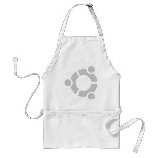 Ubuntuの堅いLinuxのTシャツ スタンダードエプロン