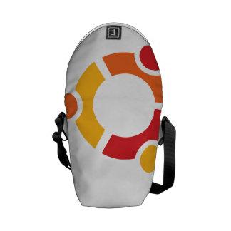 Ubuntuの小型メッセンジャーバッグ クーリエバッグ