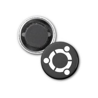 Ubuntuの黒い磁石 マグネット