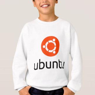 UbuntuのLinuxのロゴ スウェットシャツ