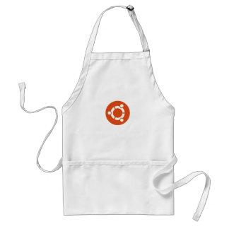 UbuntuのLinuxのTシャツ スタンダードエプロン
