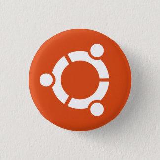 Ubuntuボタン 3.2cm 丸型バッジ