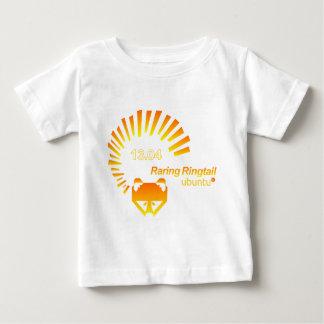 Ubuntu Tシャツ13.04-orange.png ベビーTシャツ
