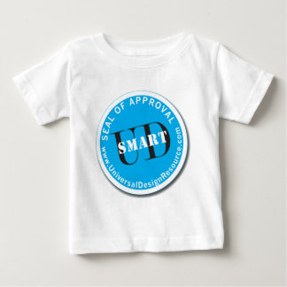 UD頭が切れるな認可の印 ベビーTシャツ