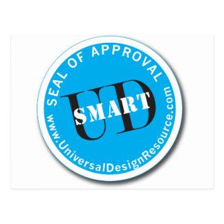 UD頭が切れるな認可の印 ポストカード
