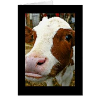 Udderlyの牛とのクールな祖母の母の日 グリーティングカード