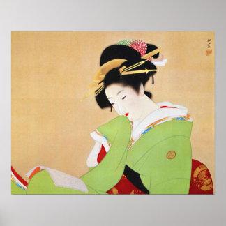 Uemura Shoenの芸術 ポスター