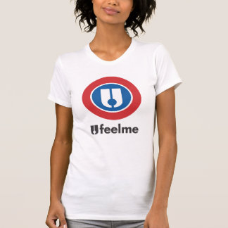 Ufeelme Logo_onライト Tシャツ