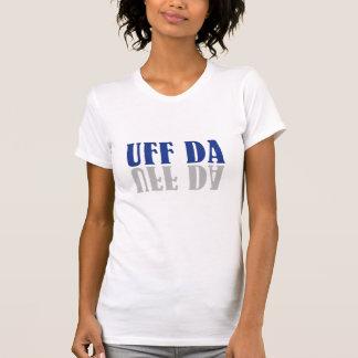 UFF DAのおもしろいなスウェーデンかノルウェーのワイシャツ Tシャツ