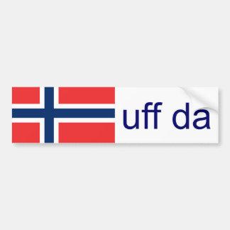 Uff Daノルウェーのおもしろいなノルウェー語 バンパーステッカー