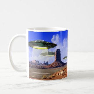 UFOのマグ コーヒーマグカップ