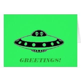 UFOの侵入! カード