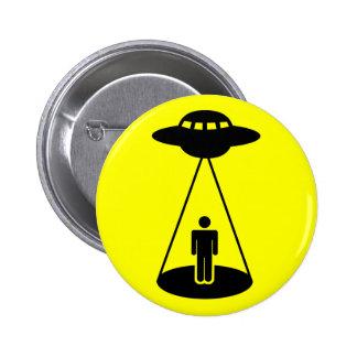 UFOの外転 5.7CM 丸型バッジ