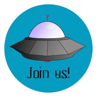 UFOの宇宙のテーマの招待状 カード