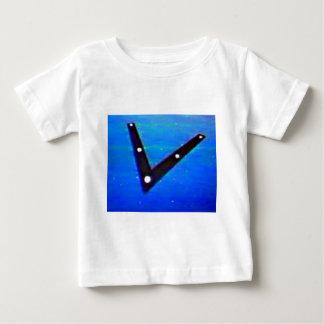 UFOの宇宙飛行船 ベビーTシャツ
