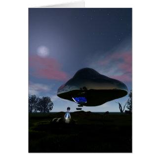 UFOの牛切断カード カード