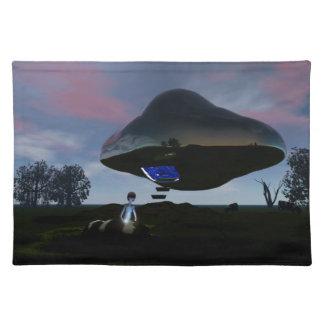 UFOの牛切断 ランチョンマット