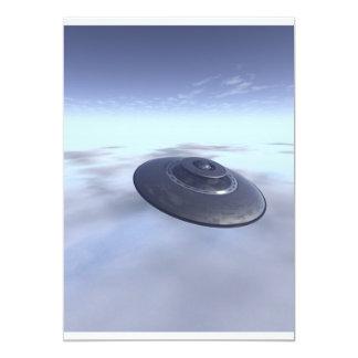 UFOの飛行中に招待状 カード
