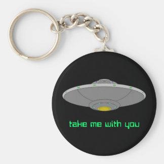 UFOのkeychain -あなたとの私を取って下さい キーホルダー
