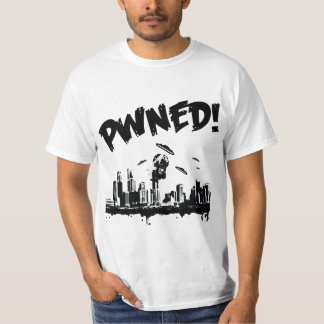 UFOのpwn bwのTシャツ Tシャツ