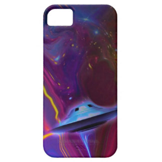 UFOマゼンタ次元の電話箱 iPhone 5 Case-Mate ケース