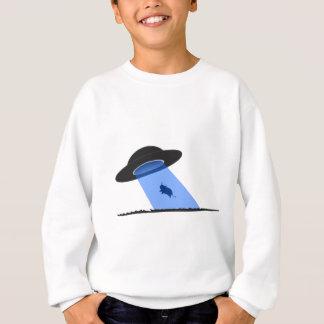 UFO牛外転の衣類 スウェットシャツ
