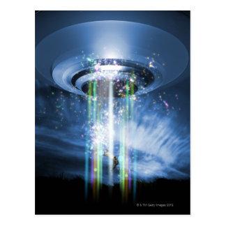 UFO ポストカード