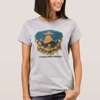 UFO -家私を取って下さい Tシャツ