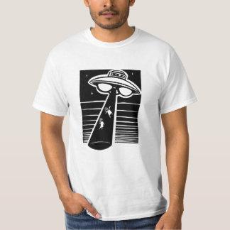 UFO -木版画 Tシャツ