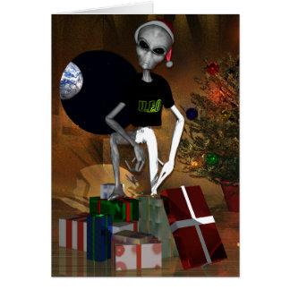 UFO -未確認のお祝いの目的 カード