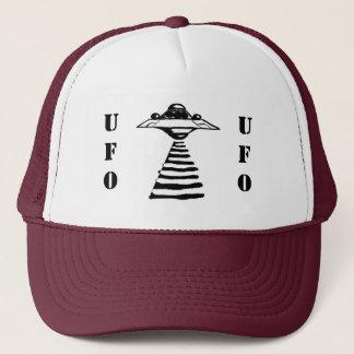 UFO -黒及び白 キャップ
