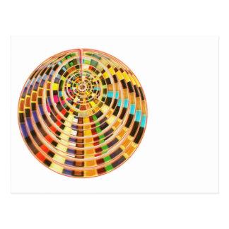 UFO 3Dエネルギードーム-波スペクトル ポストカード
