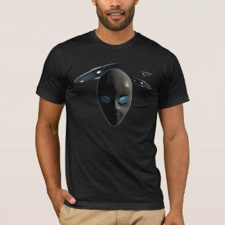 UFOsおよびエイリアン Tシャツ
