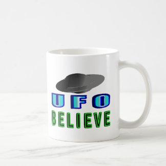 UFOsで信じて下さい コーヒーマグカップ