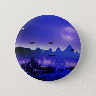 UFOsの銀河系 5.7cm 丸型バッジ