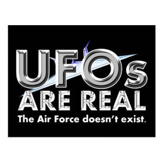 UFOsは実質の郵便はがきです ポストカード