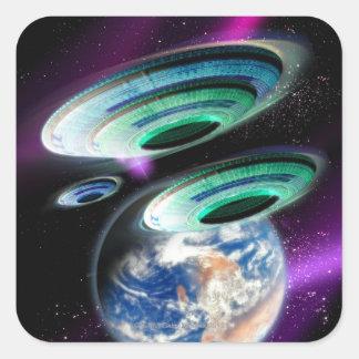 UFOs スクエアシール