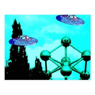 UFOs ポストカード