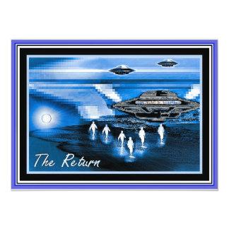 UFOs -リターン カード
